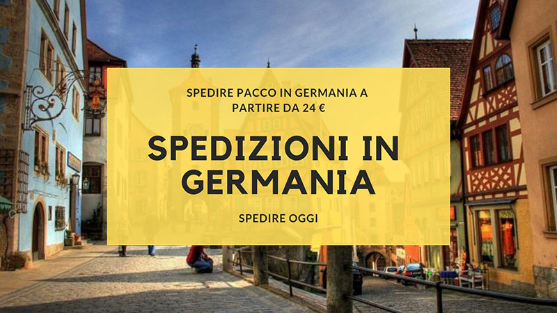 spedire pacco in Germania