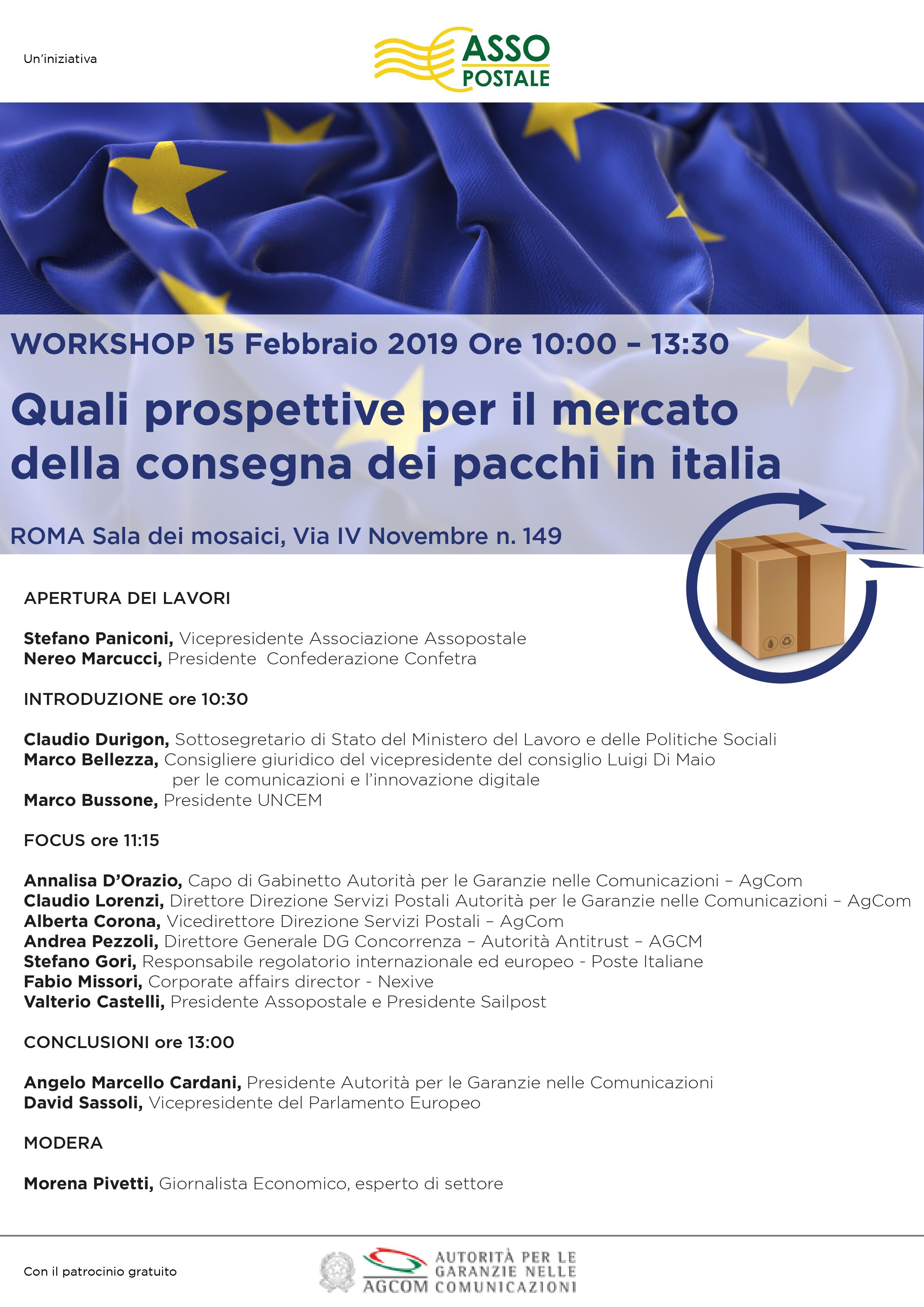 Assopostale - Quali prospettive per il mercato della consegna dei pacchi in Italia